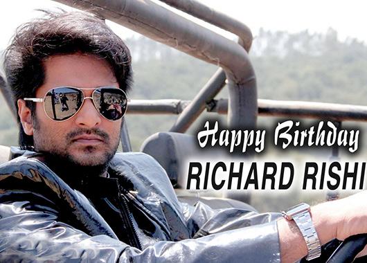20th OCTOBER 1977 RICHARD RISHI (RICHARD SHARAF BABU) BORN